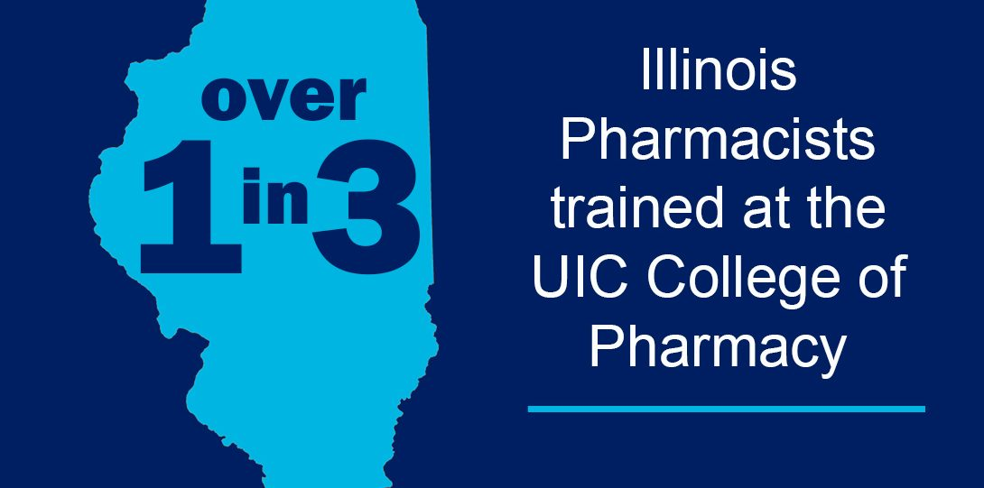 Over 1 in 3 Illinois Pharmacists Trained at the UIC college of pharmacy