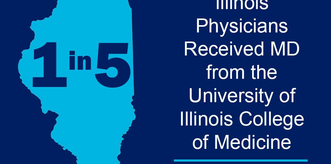 1 in 5 IL Physicians Received MD from COM