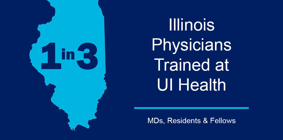1 in 3 Illinois Physicians Trained at UI Health