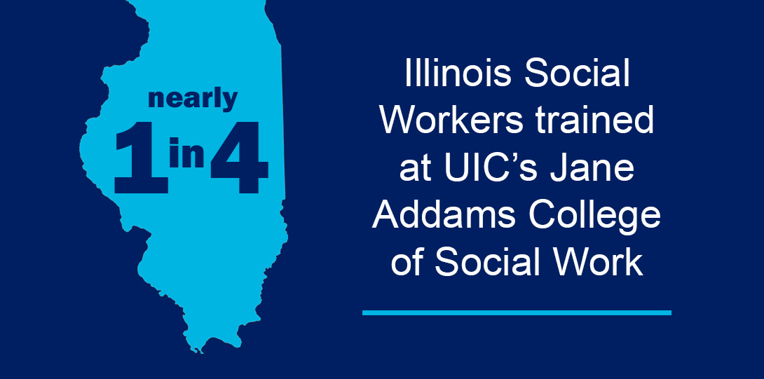 Nearly 1 in 4 Illinosi Social Workers Trained at UIC's Jane Adams College of Social Work