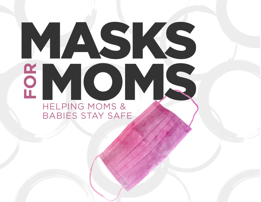 Masks for Moms flyer image header