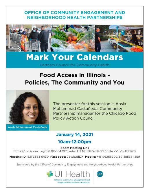 Partners Council for Community Health Flyer