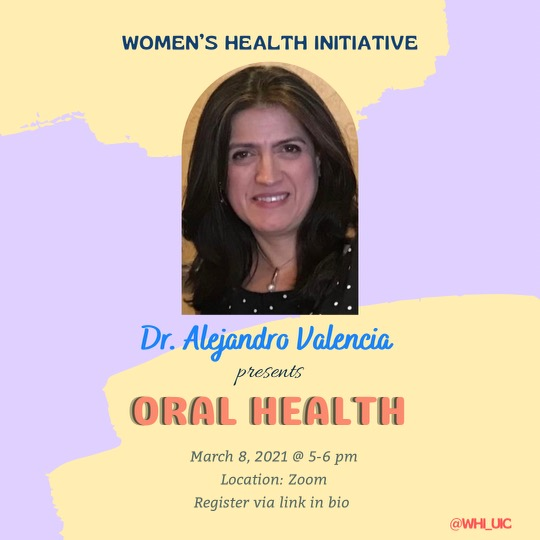 Poster for Oral Health in Women and Under Resourced Communities